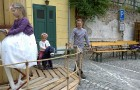 Kolotoč v Krumlově