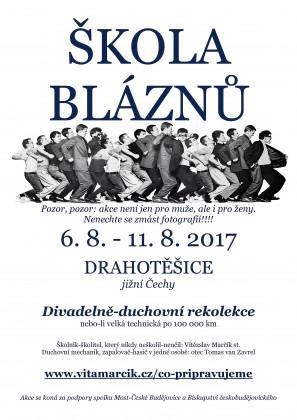 ŠKOLA  BLÁZNŮ plakát-page-001
